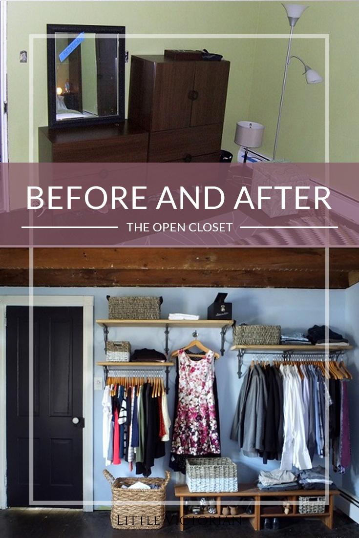 9. New Closet Reveal by simphome.com