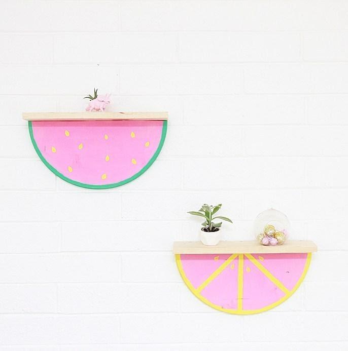 9. Watermelon Shelves by simphome.com