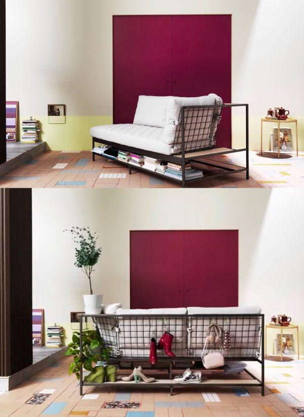 1. Sofa with Shelving by simphome.com