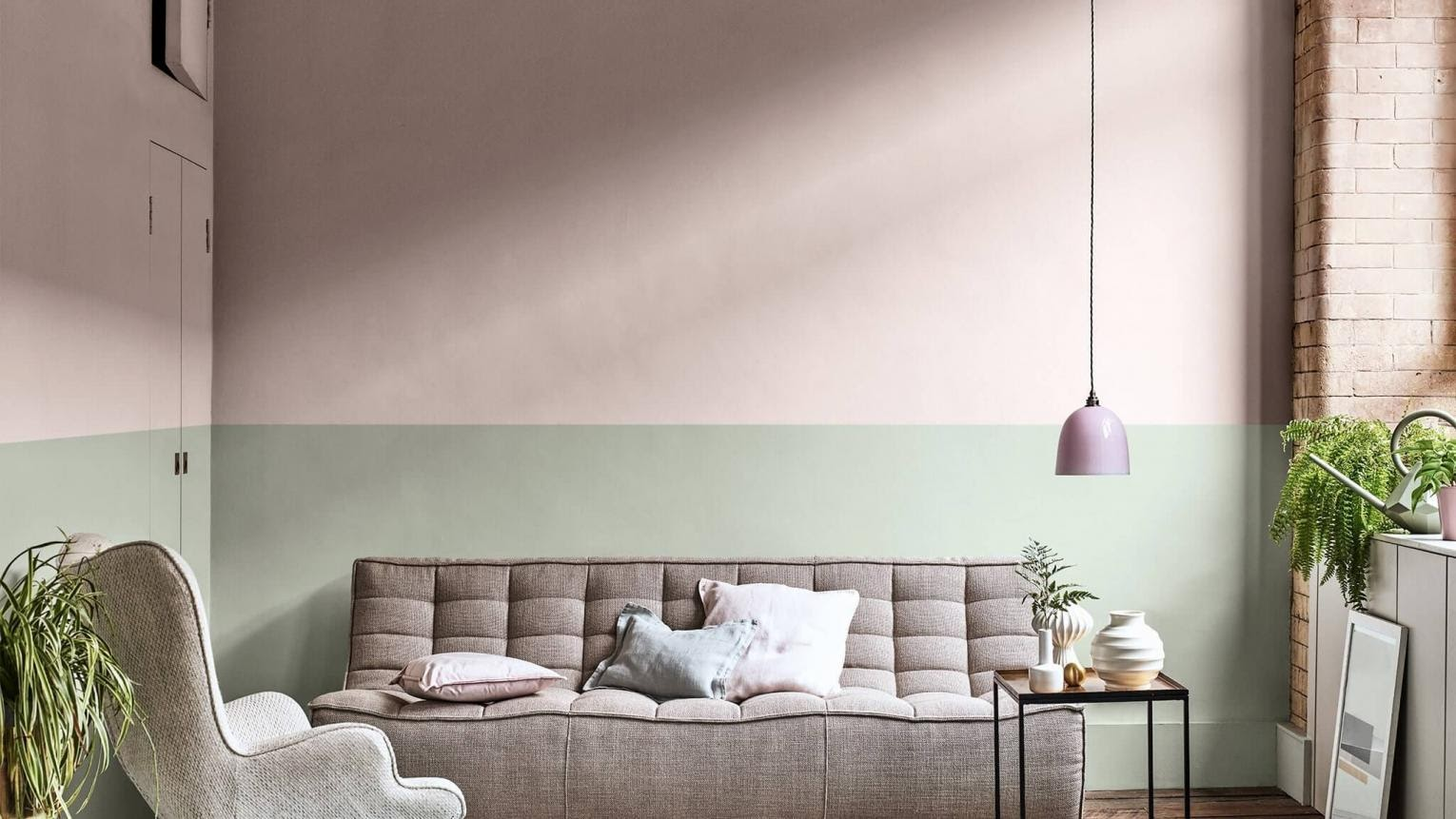 1. Try a Two tone Wall by simphome.com