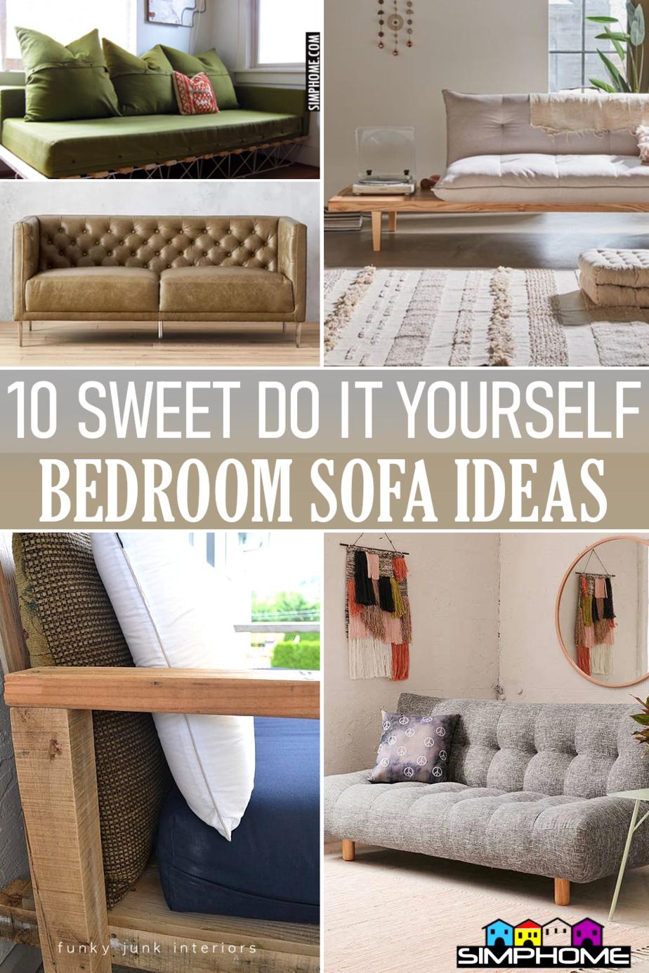 10 Bedroom Sofa Ideas via Simphome.com Featured