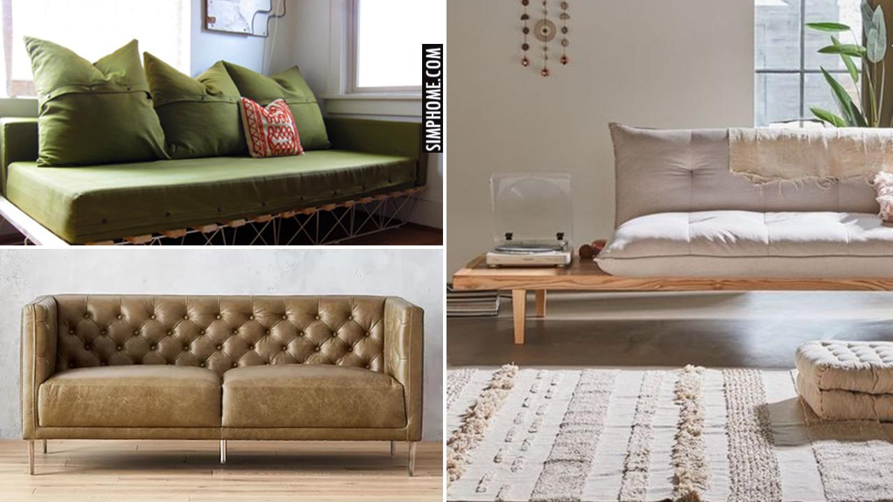10 Bedroom Sofa Ideas via Simphome.com yt Thumbnail