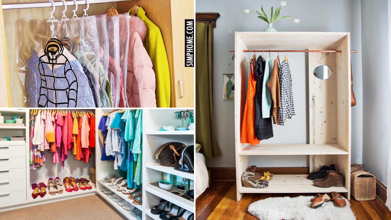 10 Modern Wardrobe Design and Makeover Ideas via Simphome.comThumbnail