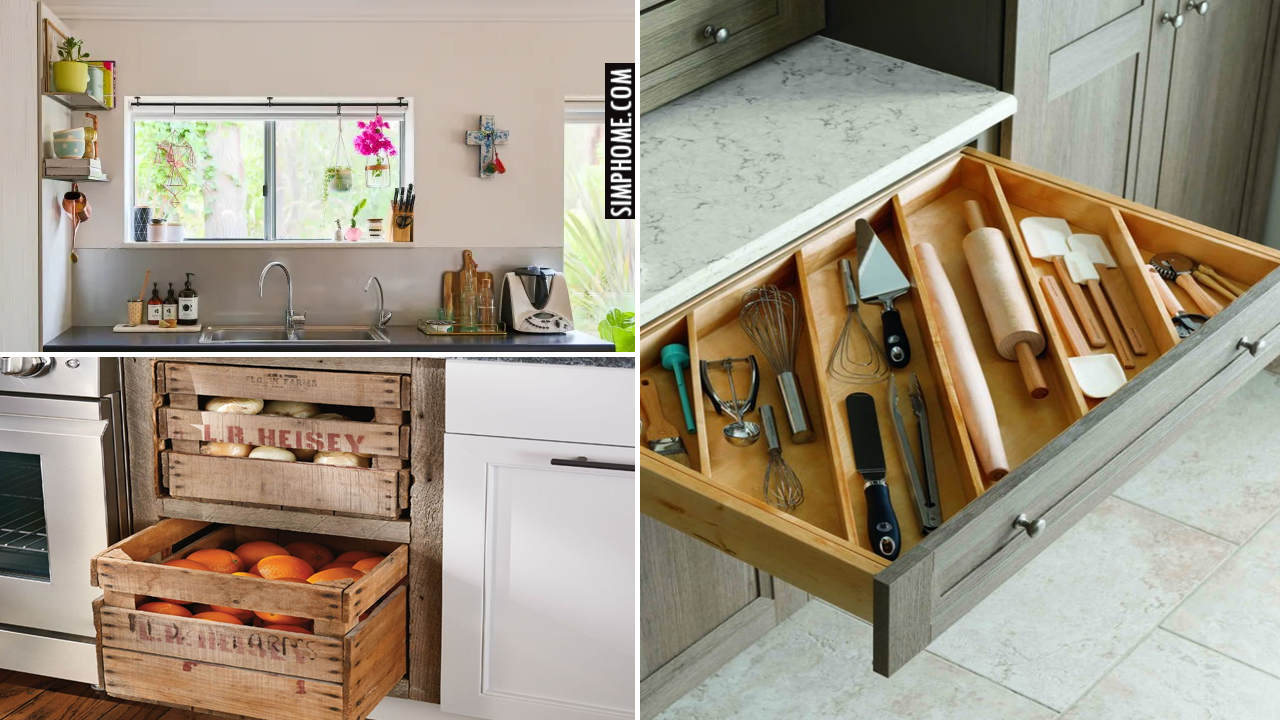 10 Small House Kitchen Essential Solutions via Simphome.comThumb