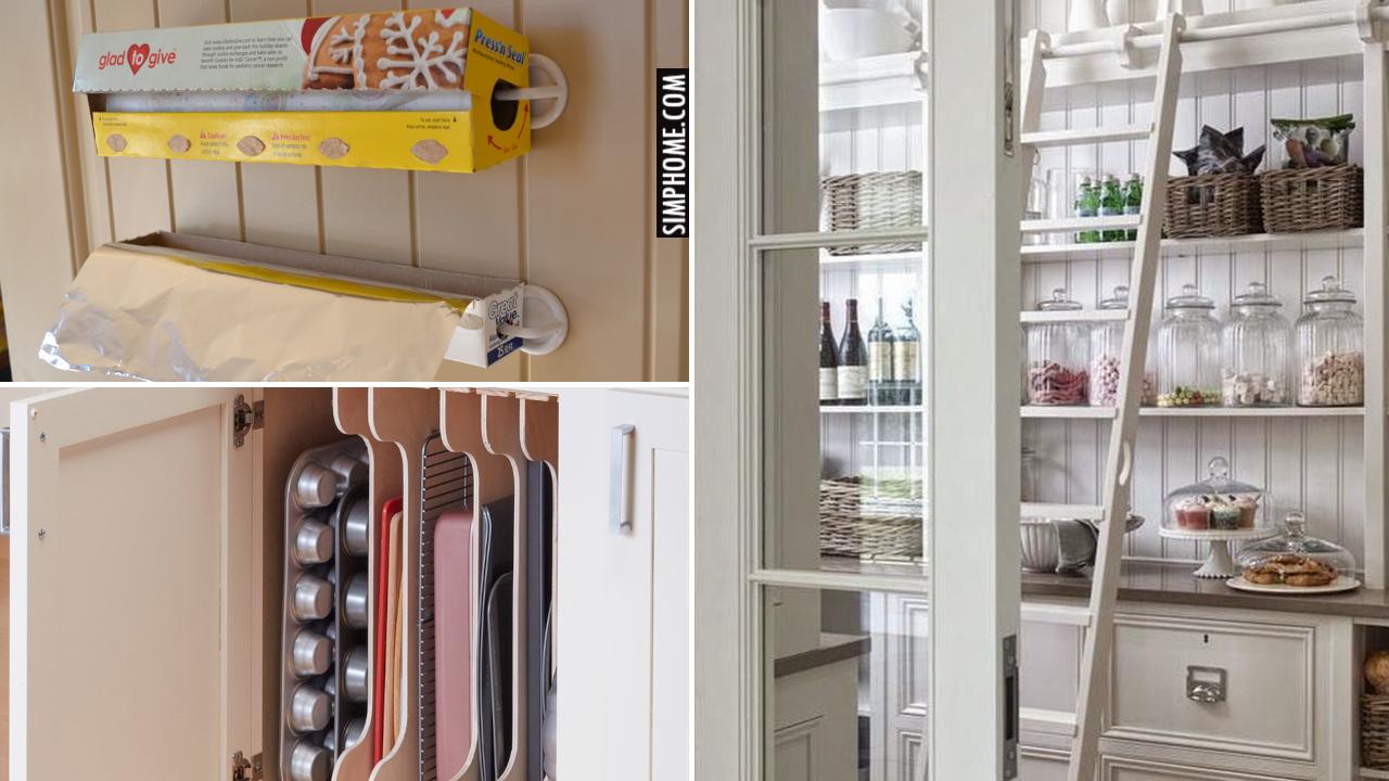 12 Kitchen Pantry Organization system via Simphome.comThumbnail