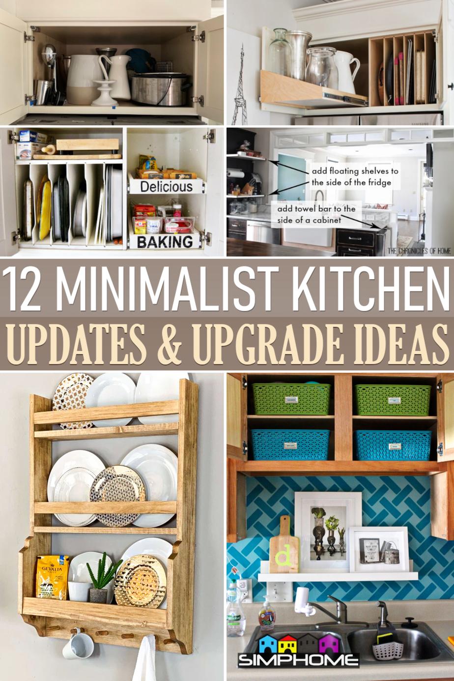 12 Minimalist Kitchen Optimization and Organizations via Simphome.comFeatured