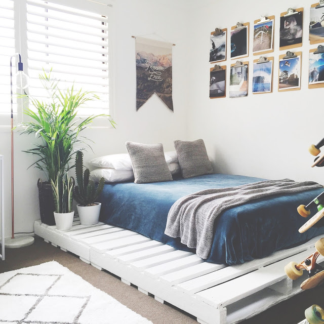 12. These Pallet Beds Are a Great Minimalistic Addition to Your Bedroom by simphome.com