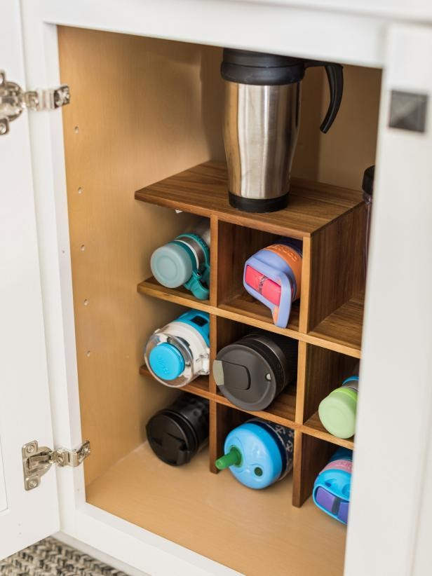 2. Bottle Divider Idea by simphome.com