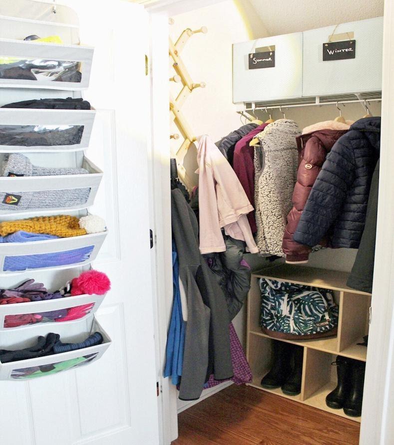 2. Coat Closet Makeover by simphome.com