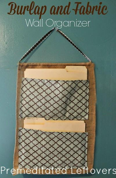 2. Opt for Wall Organizer by simphome.com