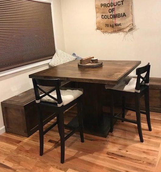3. DIY Table Nook Idea by simphome.com