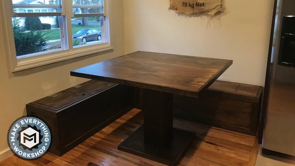 4. DIY Bench Nook Idea by simphome.com