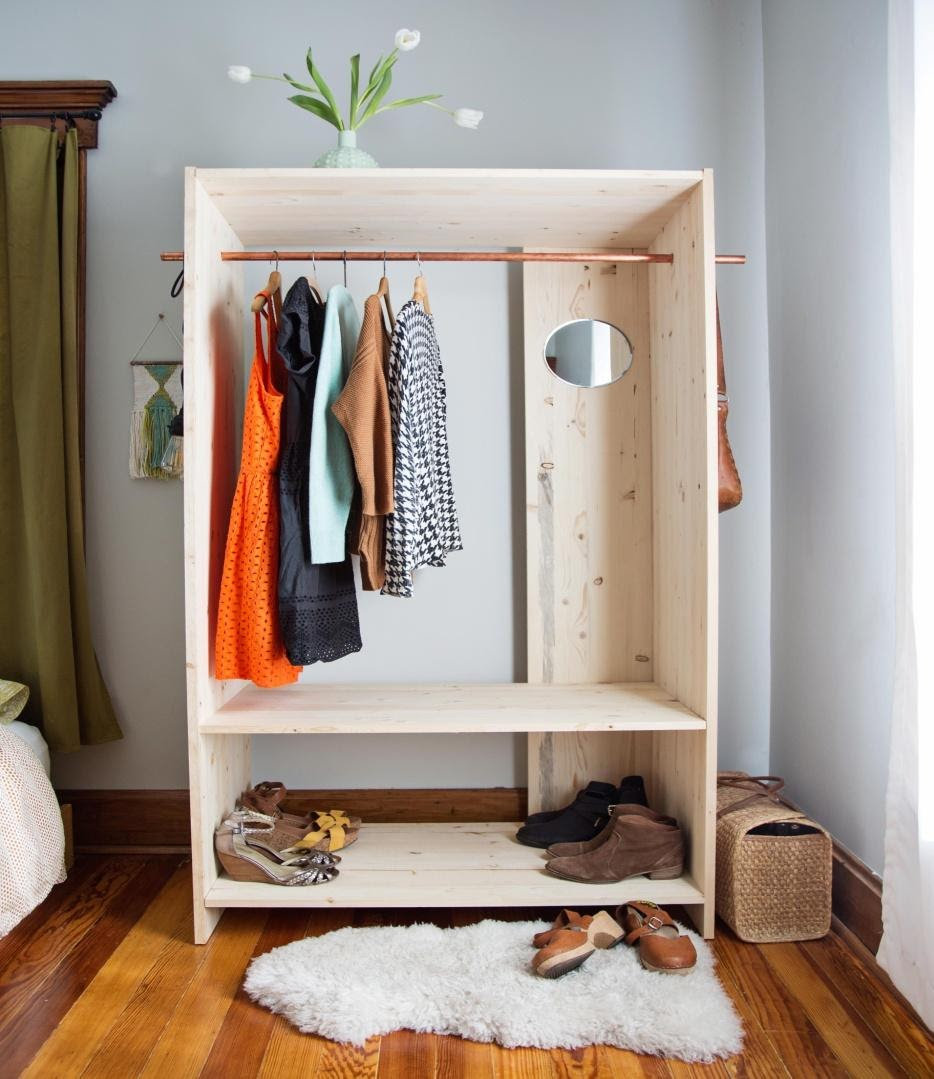 4. Modern Wooden Wardrobe by simphome.com