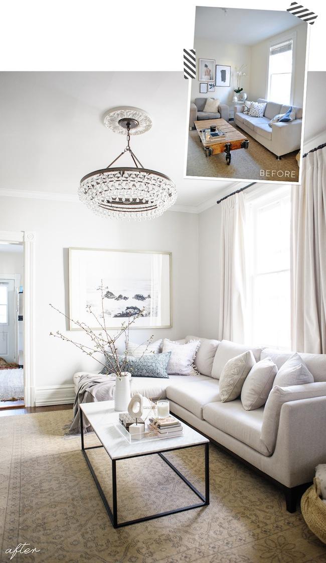 4. Our Living Room Reveal by simphome.com