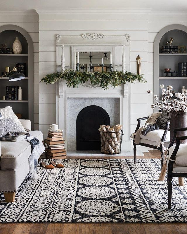 4. Use Rugs to Beautify the Floor by simphome.com