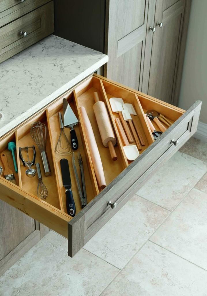 5. DIY Slanted Drawer Storage by simphome.com