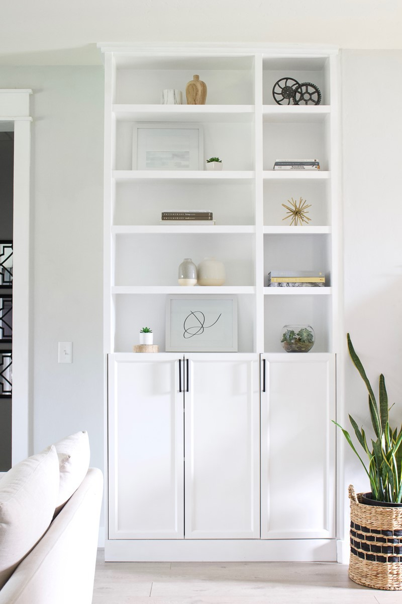 5. IKEA Billy Bookcase Hack by simphome.com