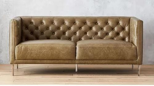 5. Leather Sofa by simphome.com