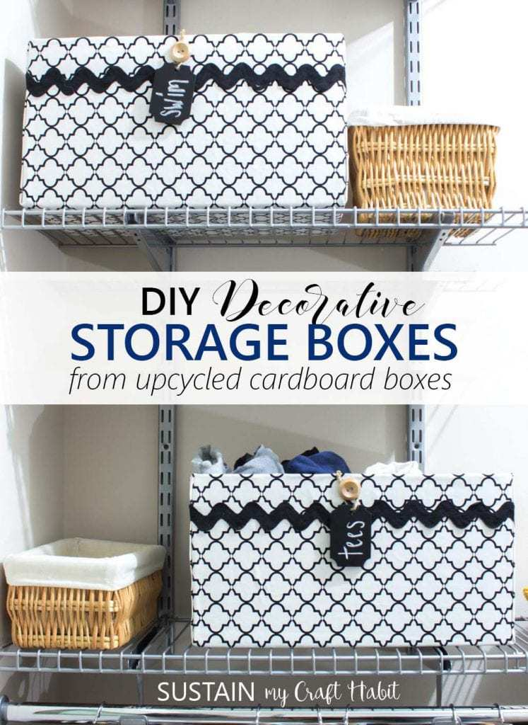 5. Upcycled Storage Box by simphome.com