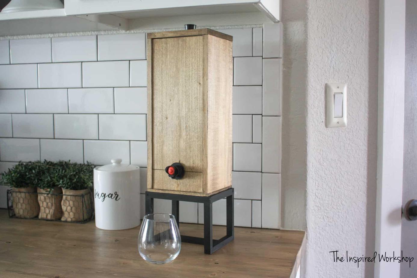 7. Wine Dispenser by simphome.com