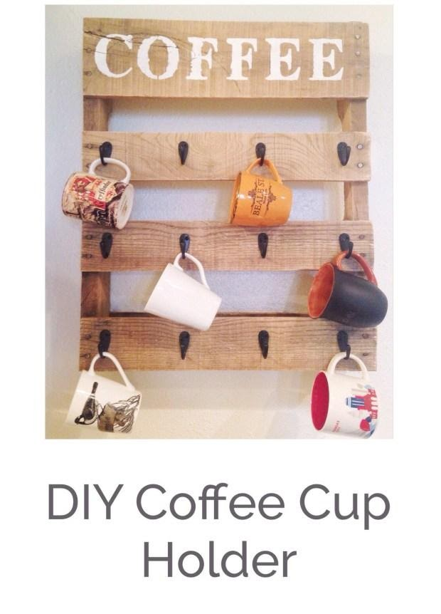 8. Coffee Cup Holder by simpome.com