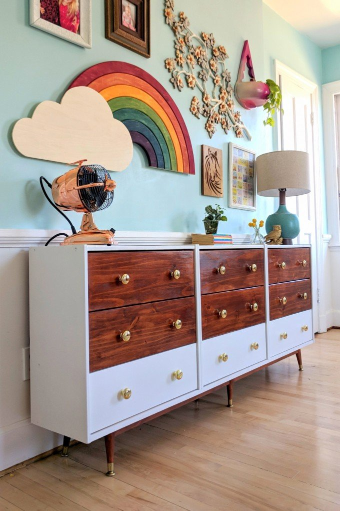 8. This TRIPLE IKEA RAST HACK Would save you lots of clutter by simphome.com