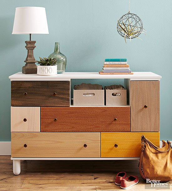 9. How to Stain a Dresser by simphome.com