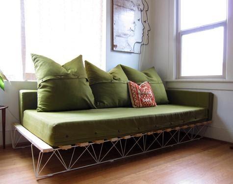 9. Platform Sofa by simphome.com