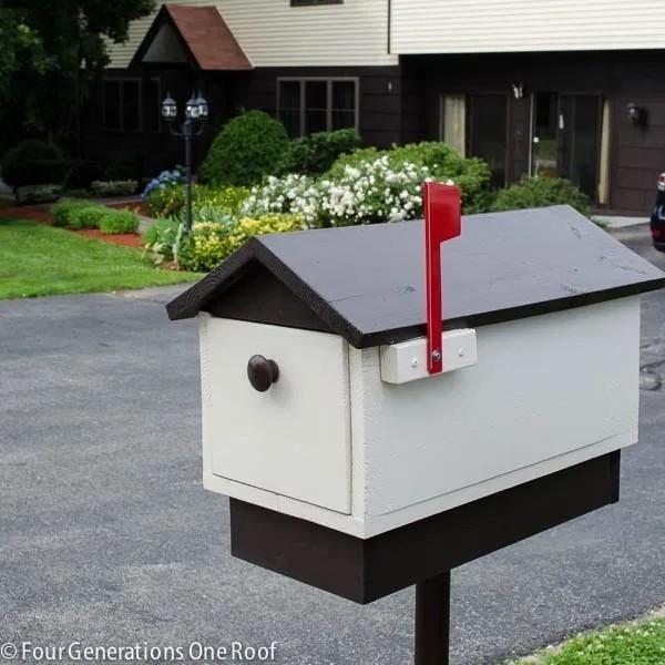 1. DIY Wooden Mailbox by simphome.com
