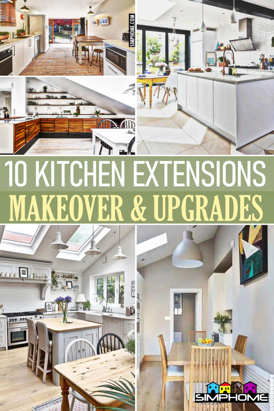 10 Kitchen Extension Ideas via Simphome.comFeatured
