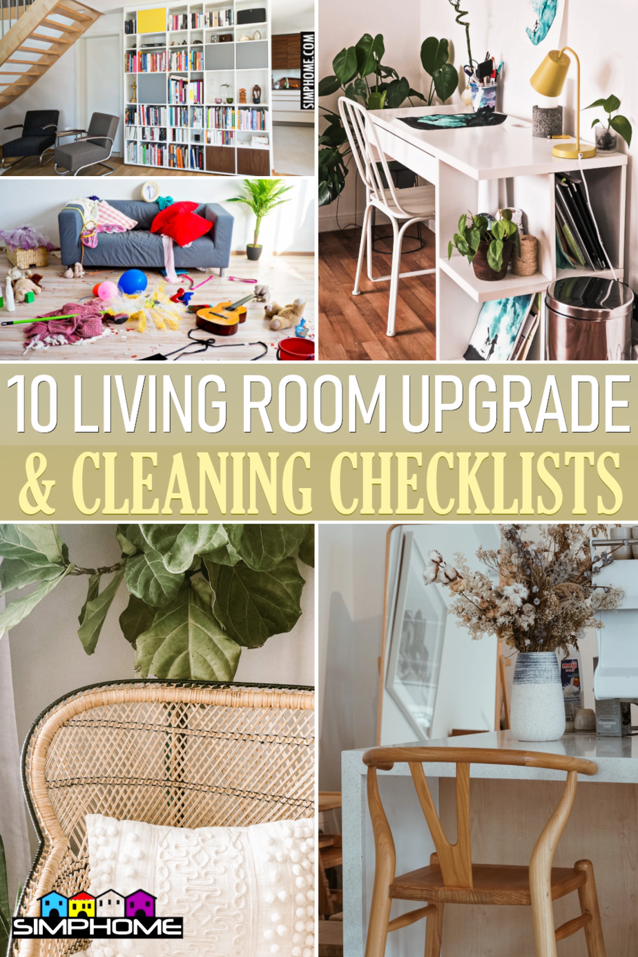 10 Living Room Checklists You Probably Have Missed via SimphomecomFEATURED