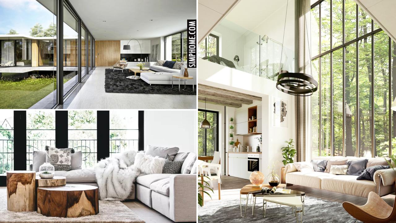 10 Modern Interior Makeover Ideas via Simphome.comThumbnail