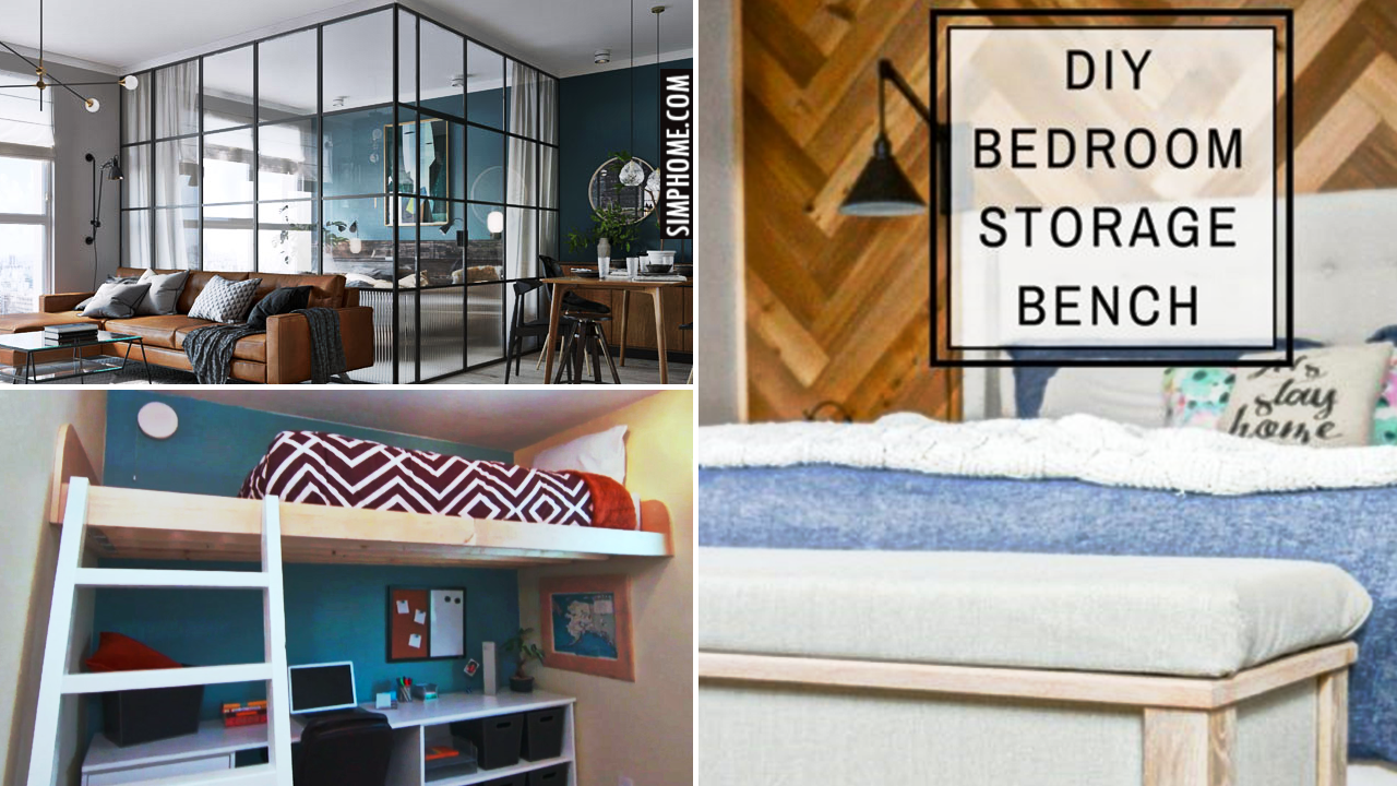 12 Cost Cutting Tips To Optimize A Small Bedroom by Simphome.comVideo Thumbnail