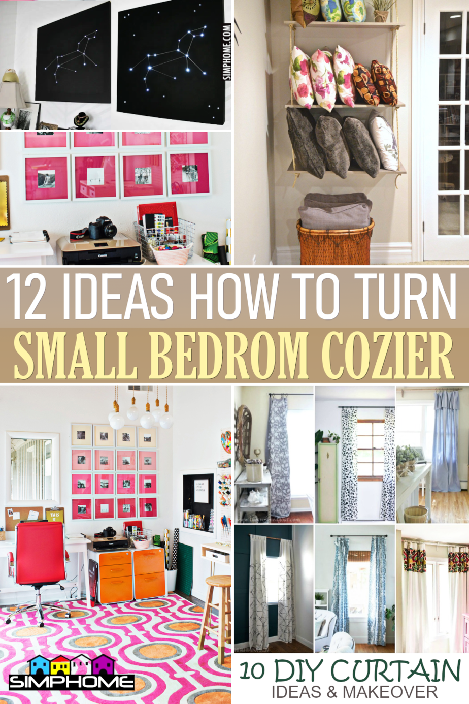 12 Ideas On How To Make Your Bedroom Coziest Place by Simphome.comFeatured