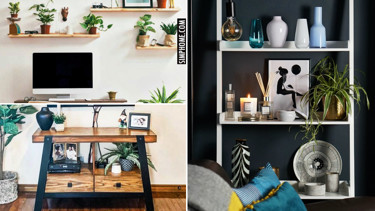 12 ideas how to declutter your living room via Simphome.comThumbnail