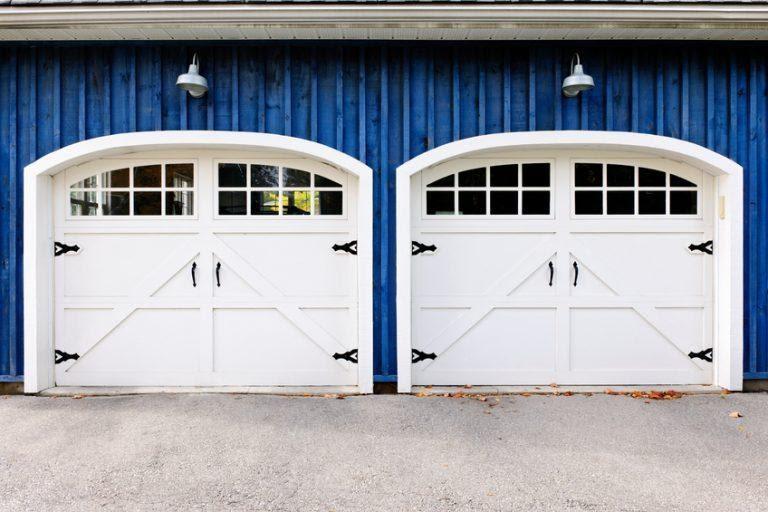 2. Upgrade Your Garage Door by simphome.com