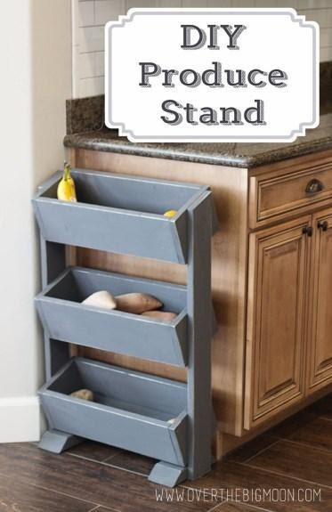 5. Keep a Produce Stand near your Counter by simphome.com