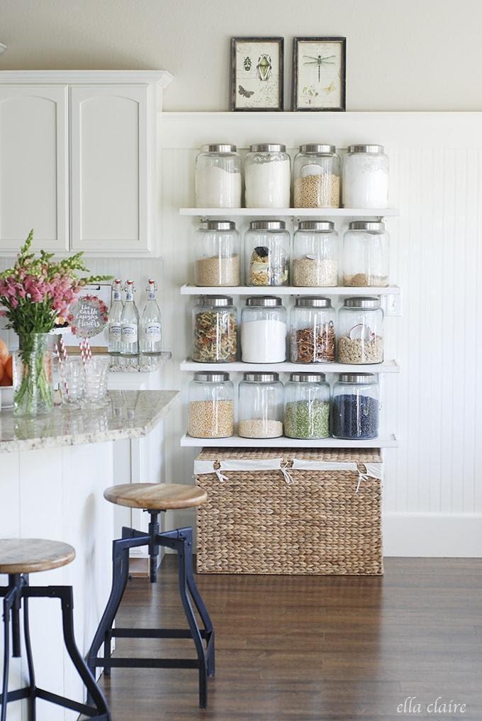 6. Ye Olde Jar Shelves by simphome.com