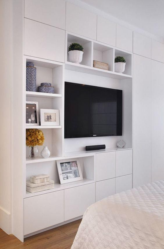 7. Built in TV and Shelves by simphome.com