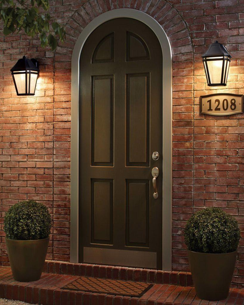 8. Install Front Door Lighting by simphome.com