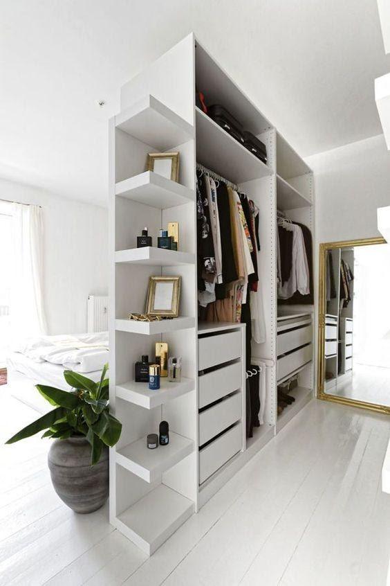 8. Wardrobe Wall Divider by simphome.com
