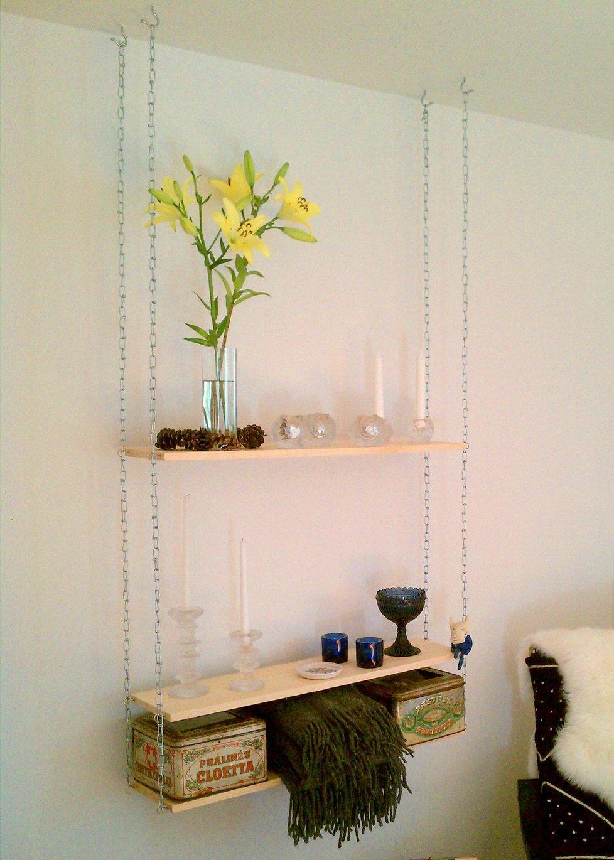 HANGING SHELVING idea with IKEA