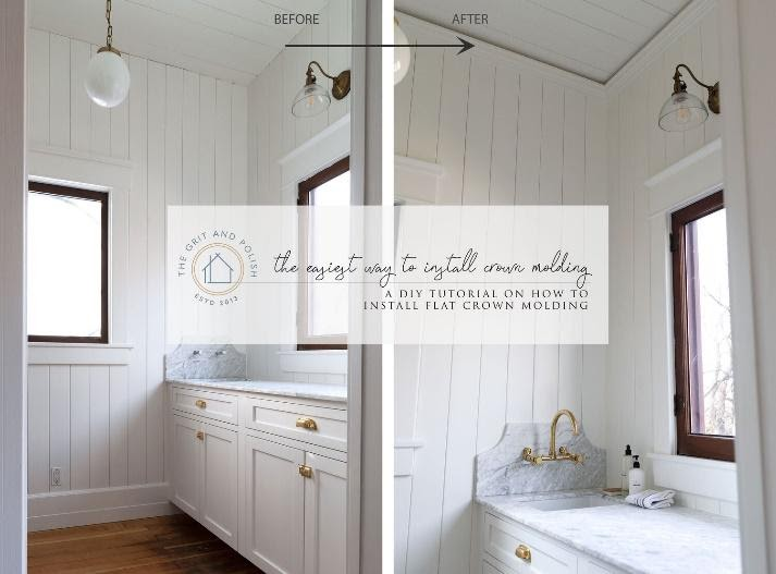 1. Consider Crown Molding by simphome.com
