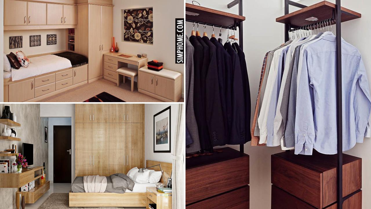 10 Built in Bedroom Wardrobe Ideas via Simphome.comThumbnail