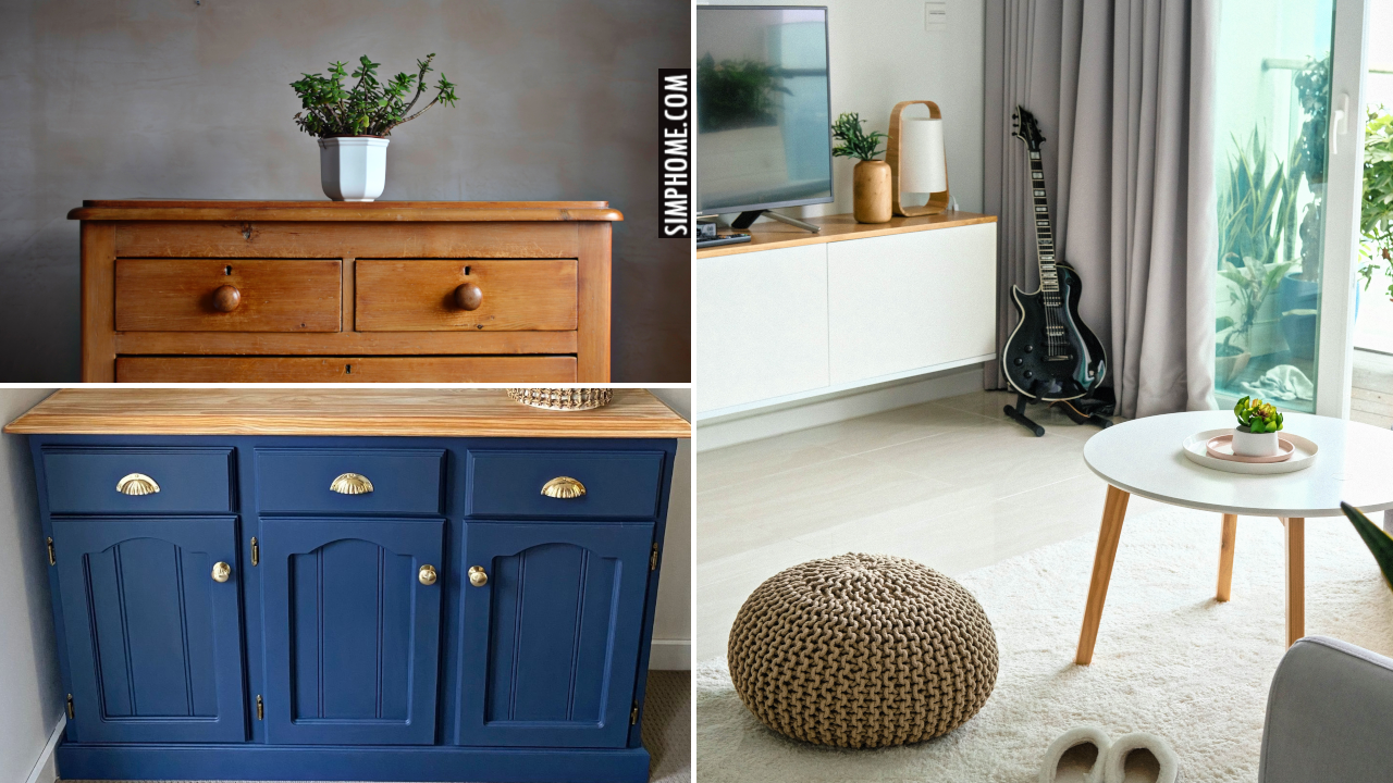 10 Cabinet Facelifts for Small Space via Simphome.comThumbnail