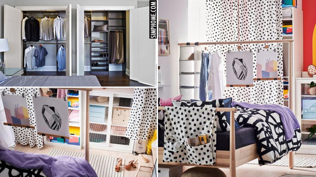 10 Closet Layout Ideas via Simphome.comThumbnail