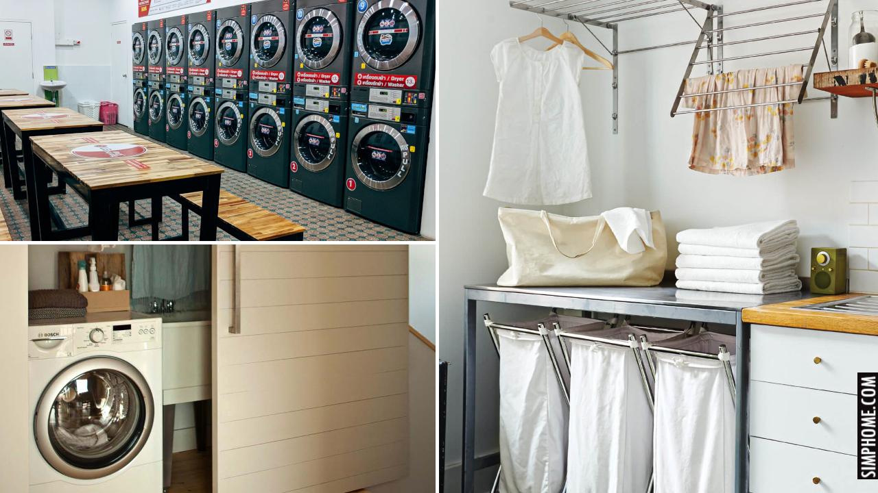 10 Modern Laundry Room Ideas via Simphome.comThumbnail