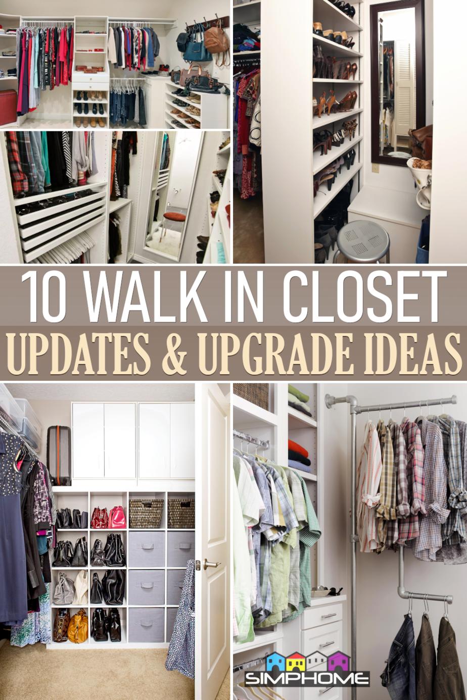 10 walk in Closet Ideas via Simphome.comFeatured