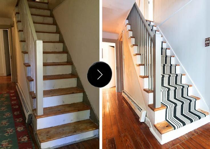 10. Make Stair Runner by simphome.com