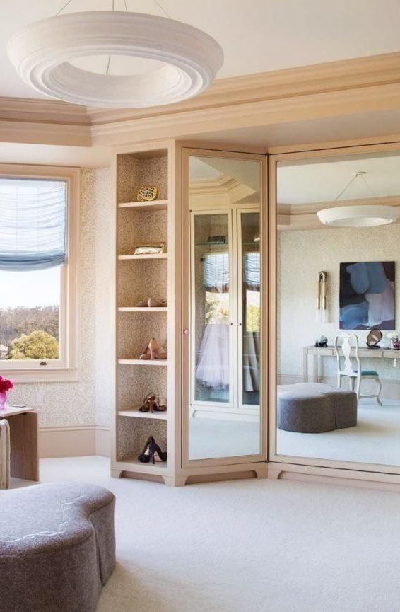 10. Paneled Mirror by simphome.com